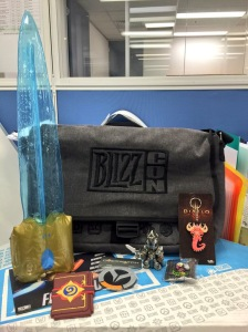Blizzcon 2015 Goody Bag!
