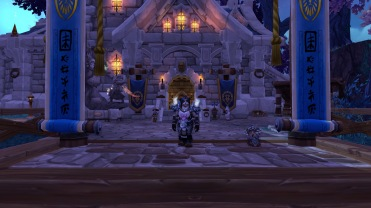 My new home! (And new transmog!)