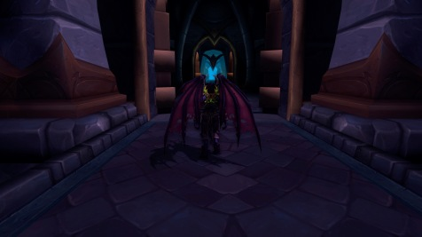 Metamorphosis from the back - just love those wings!