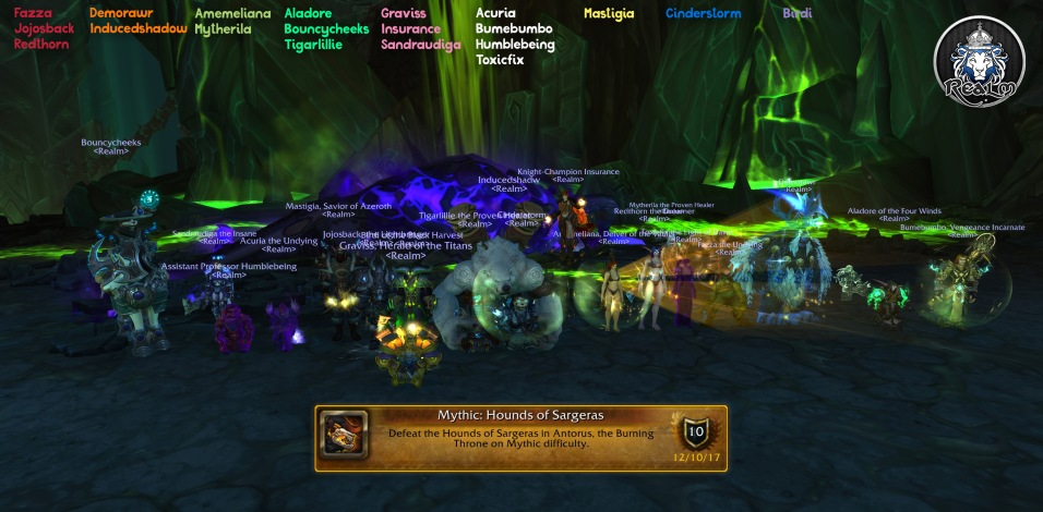Mythic Hounds of Sargeras