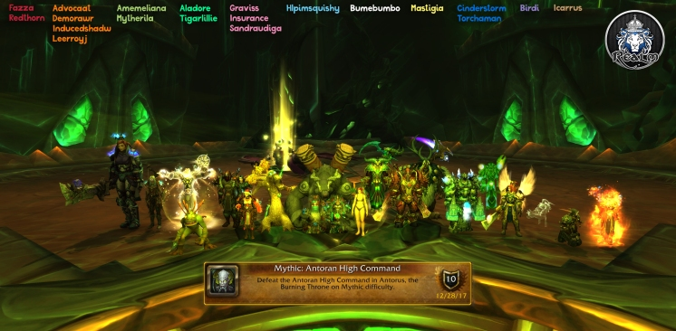 Mythic Antoran High Command