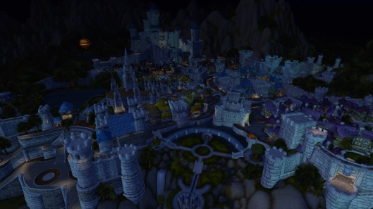 Stormwind is such a beautiful city!