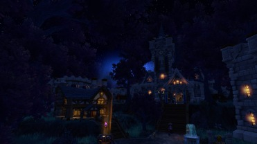 Alliance garrison looks so magical!