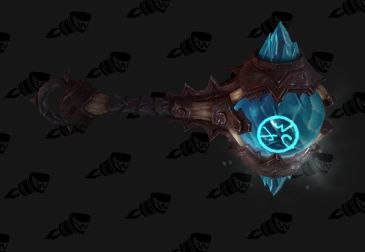 The mace (image from Wowhead http://www.wowhead.com/guides/restoration-shaman-artifact-challenge)