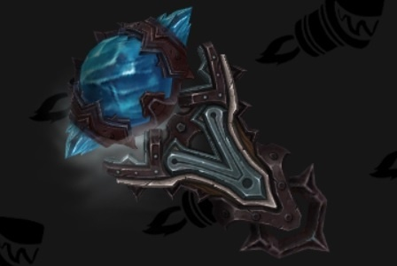 and the matching shield (image from Wowhead http://www.wowhead.com/guides/restoration-shaman-artifact-challenge)