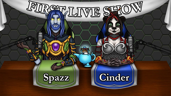 """The amazing Sirius is the resident """"art gremlin"""" (and now co-host!) for Reins of Azeroth. My lovely shaman got loads of gorgeous outfits to match the theme of the show. Check out Sirius' art over at https://supersirius.net/"""