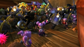 Quick dance party on the boat to Orgrimmar