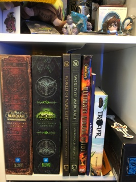 WoW collector's editions, books and cookie cutters